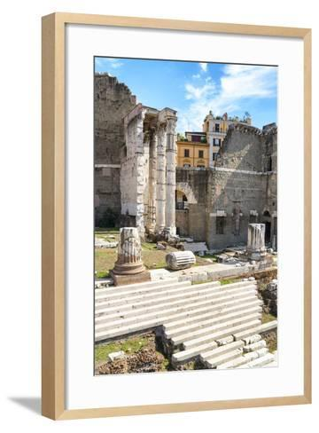 Dolce Vita Rome Collection - Rome Columns-Philippe Hugonnard-Framed Art Print