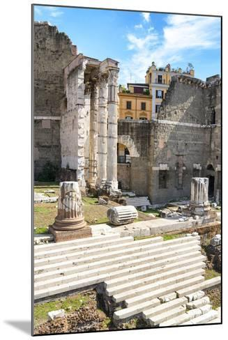 Dolce Vita Rome Collection - Rome Columns-Philippe Hugonnard-Mounted Photographic Print