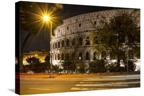Dolce Vita Rome Collection - Colosseum Night III-Philippe Hugonnard-Stretched Canvas Print