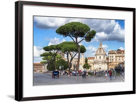 Dolce Vita Rome Collection - Sunday in Rome-Philippe Hugonnard-Framed Art Print