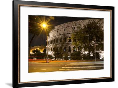 Dolce Vita Rome Collection - Colosseum Night III-Philippe Hugonnard-Framed Art Print