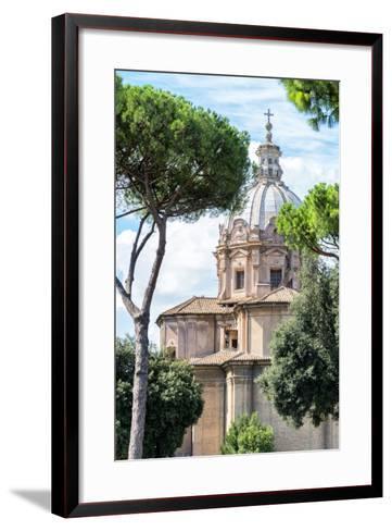 Dolce Vita Rome Collection - Church of Rome II-Philippe Hugonnard-Framed Art Print