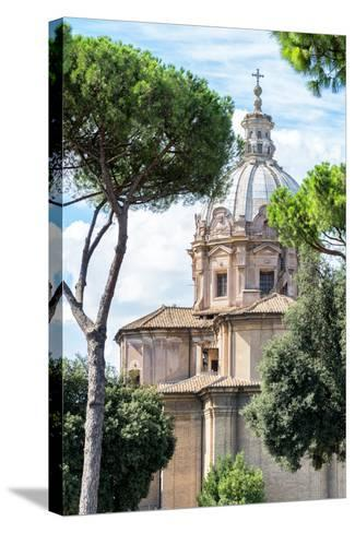 Dolce Vita Rome Collection - Church of Rome II-Philippe Hugonnard-Stretched Canvas Print