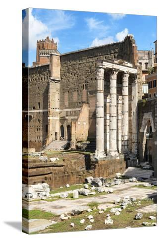 Dolce Vita Rome Collection - Antique Ruins Rome IV-Philippe Hugonnard-Stretched Canvas Print