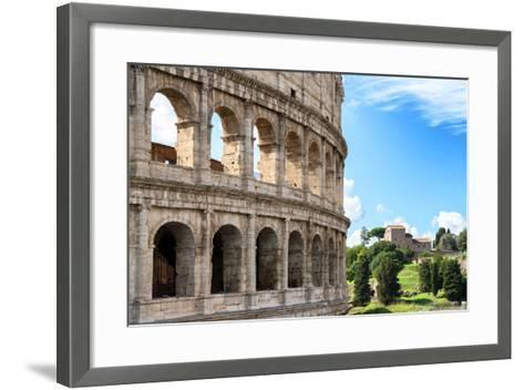 Dolce Vita Rome Collection - The Colosseum Rome VII-Philippe Hugonnard-Framed Art Print