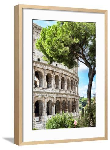 Dolce Vita Rome Collection - The Colosseum Rome III-Philippe Hugonnard-Framed Art Print
