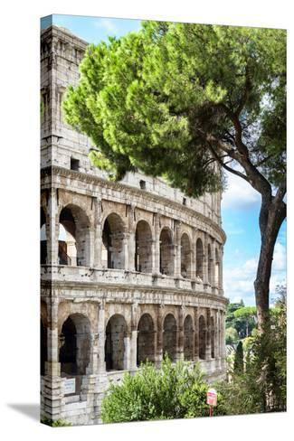Dolce Vita Rome Collection - The Colosseum Rome III-Philippe Hugonnard-Stretched Canvas Print