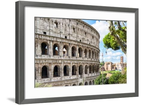Dolce Vita Rome Collection - The Colosseum Rome VI-Philippe Hugonnard-Framed Art Print