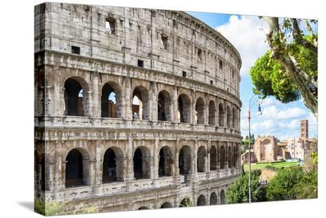 Dolce Vita Rome Collection - The Colosseum Rome VI-Philippe Hugonnard-Stretched Canvas Print