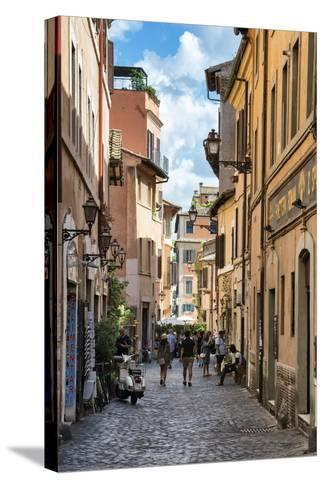 Dolce Vita Rome Collection - Street of Rome-Philippe Hugonnard-Stretched Canvas Print