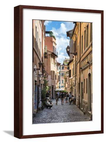 Dolce Vita Rome Collection - Street of Rome-Philippe Hugonnard-Framed Art Print