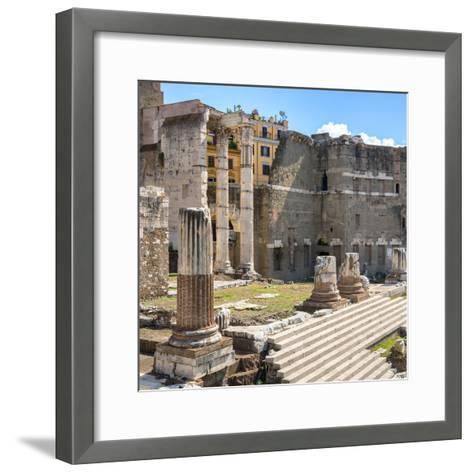 Dolce Vita Rome Collection - Rome Columns IV-Philippe Hugonnard-Framed Art Print