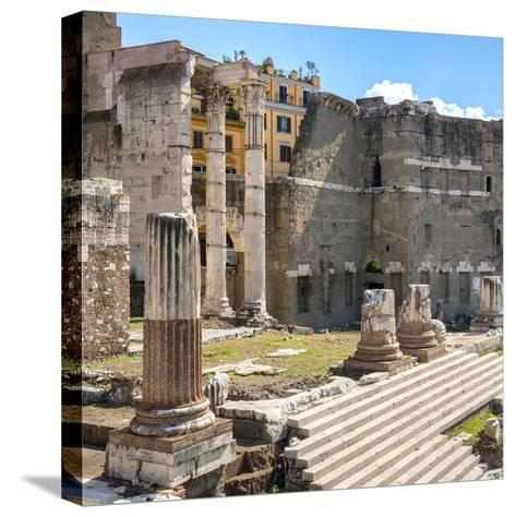 Dolce Vita Rome Collection - Rome Columns IV-Philippe Hugonnard-Stretched Canvas Print