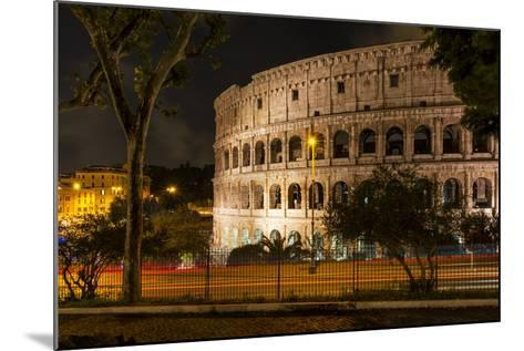 Dolce Vita Rome Collection - The Colosseum Orange Night-Philippe Hugonnard-Mounted Photographic Print