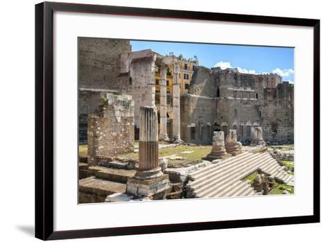 Dolce Vita Rome Collection - Rome Columns III-Philippe Hugonnard-Framed Art Print