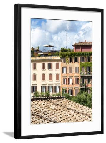 Dolce Vita Rome Collection - Architecture in Rome IV-Philippe Hugonnard-Framed Art Print