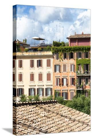 Dolce Vita Rome Collection - Architecture in Rome IV-Philippe Hugonnard-Stretched Canvas Print