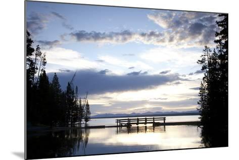 Yellowstone Lake In Yellowstone National Park, WY-Justin Bailie-Mounted Photographic Print