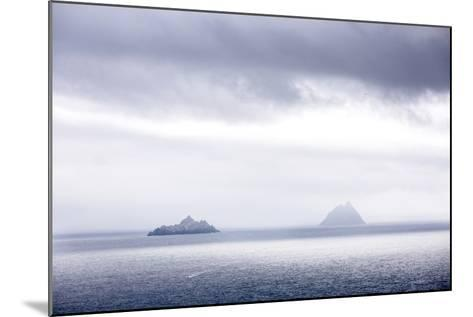 Bray Head, Bray, Kerry, Ireland: The Skellig Islands In Some Interesting Light-Axel Brunst-Mounted Photographic Print