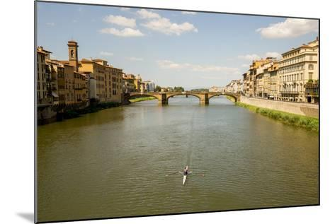 Florence, Italy: View From Ponte Vecchio-Ian Shive-Mounted Photographic Print