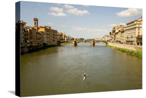Florence, Italy: View From Ponte Vecchio-Ian Shive-Stretched Canvas Print
