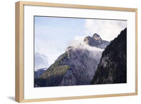 Königssee, Berchtesgaden NP, Bavaria, Germany: High Mts Surrounding The Famous Fjord-Lik Königssee-Axel Brunst-Framed Art Print