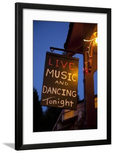 Iron Door Saloon In Groveland, CA-Justin Bailie-Framed Art Print