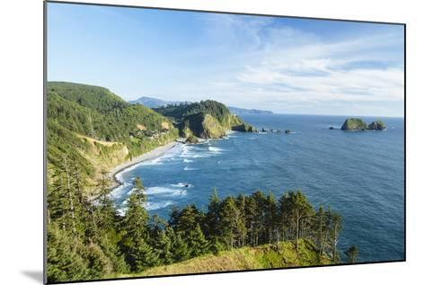 Cape Mears Along The Oregon Coast-Justin Bailie-Mounted Photographic Print