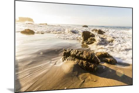 Malibu, California, USA: Famous El Matador Beach In Summer In The Early Morning-Axel Brunst-Mounted Photographic Print