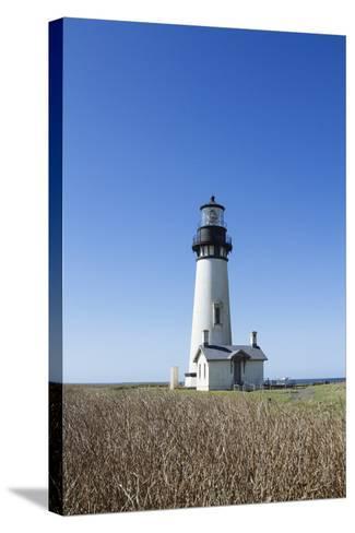 Yaquina Head Lighthouse, Oregon Coast-Justin Bailie-Stretched Canvas Print