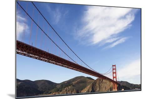 San Francisco, California, USA: View On The Golden Gate Bridge From A Boat-Axel Brunst-Mounted Photographic Print