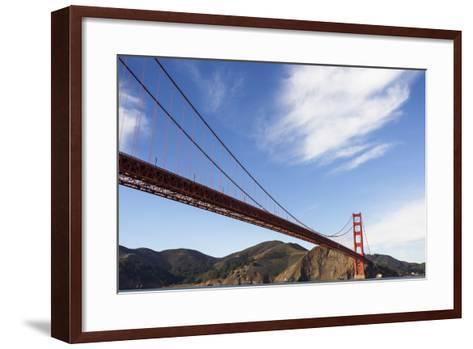 San Francisco, California, USA: View On The Golden Gate Bridge From A Boat-Axel Brunst-Framed Art Print