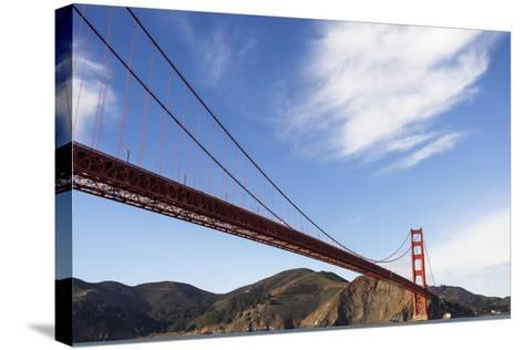 San Francisco, California, USA: View On The Golden Gate Bridge From A Boat-Axel Brunst-Stretched Canvas Print