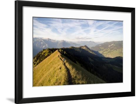 Hardergrat (Ridge) Hike Above Lake Brienz, Switzerland-Axel Brunst-Framed Art Print
