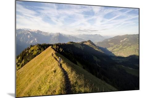 Hardergrat (Ridge) Hike Above Lake Brienz, Switzerland-Axel Brunst-Mounted Photographic Print