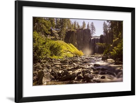 Rainbow Falls, Devils Postpile National Monument, California, USA-Axel Brunst-Framed Art Print