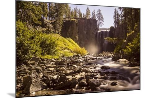 Rainbow Falls, Devils Postpile National Monument, California, USA-Axel Brunst-Mounted Photographic Print