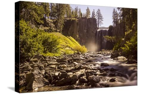 Rainbow Falls, Devils Postpile National Monument, California, USA-Axel Brunst-Stretched Canvas Print