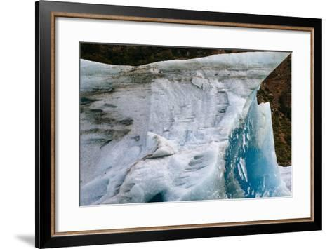 Ice And Scenery Near The Viedma Glacier From Lago Viedma In Los Glaciares NP Patagonia Argentina-Jay Goodrich-Framed Art Print