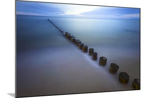 Long Exposure Seascape At The Coast Of The Baltic Sea Near Rerik, Germany-Axel Brunst-Mounted Photographic Print