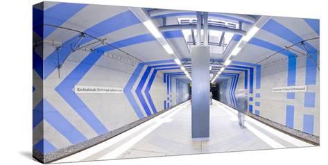 Subway Station In Stuttgart, Germany-Axel Brunst-Stretched Canvas Print