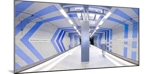 Subway Station In Stuttgart, Germany-Axel Brunst-Mounted Photographic Print