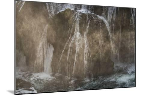 Štrba?ki Buk, Una NP. Štrba?ki Buk Waterfalls Una River, Borders Bosnia, Herzegovina & Croatia-Karine Aigner-Mounted Photographic Print