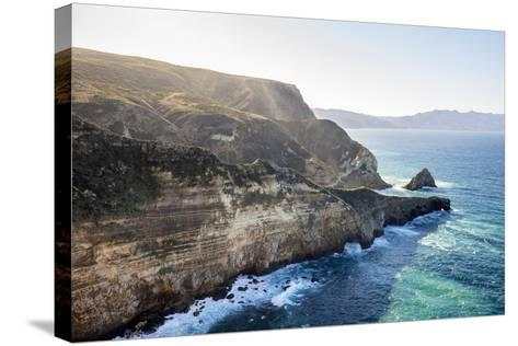 Santa Cruz Island, Channel Islands National Park, California: Hiking At Potato Harbor-Ian Shive-Stretched Canvas Print