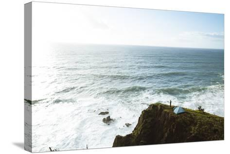 Oregon Coast Trail, Oswald West State Park, OR-Justin Bailie-Stretched Canvas Print