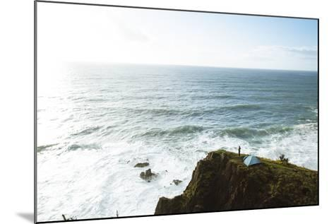 Oregon Coast Trail, Oswald West State Park, OR-Justin Bailie-Mounted Photographic Print