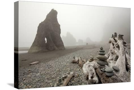 Olympic National Park, Washington: Ruby Beach-Ian Shive-Stretched Canvas Print