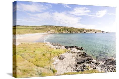 Barley Cove Beach, Dough, Cork, Ireland: A Little Bach With Cristal Clear Water-Axel Brunst-Stretched Canvas Print