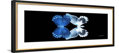 Miss Butterfly Duo Memhowqua Pan - X-Ray Black Edition II-Philippe Hugonnard-Framed Art Print