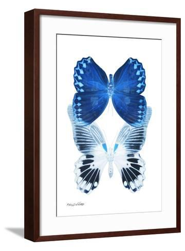 Miss Butterfly Duo Memhowqua II - X-Ray White Edition-Philippe Hugonnard-Framed Art Print